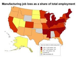 jobs lost to multinationals